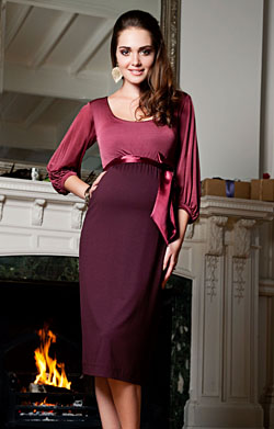 Sienna Maternity Dress (Spice)