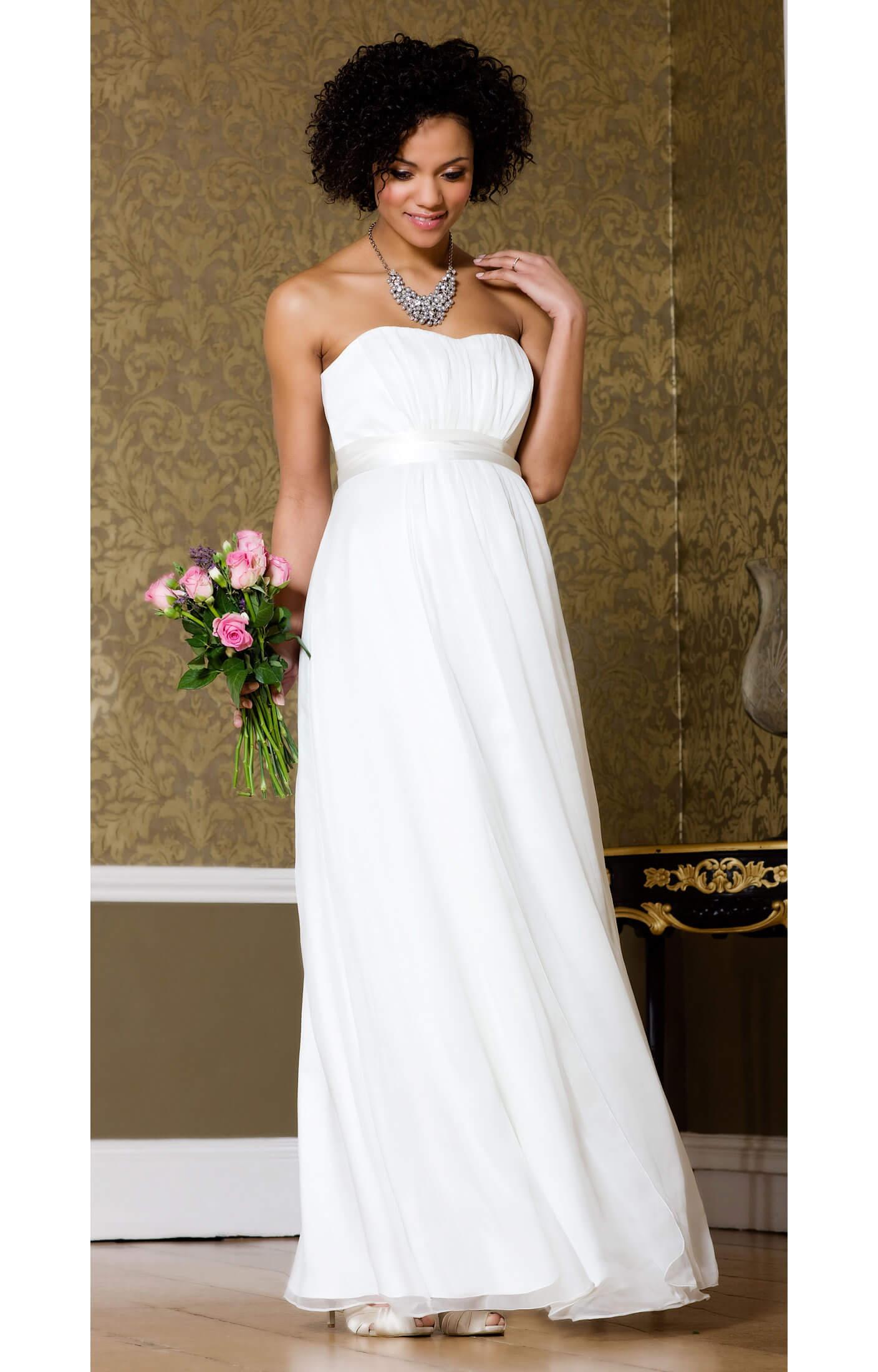 Silk Sweetheart Maternity Gown - Maternity Wedding Dresses, Evening ...