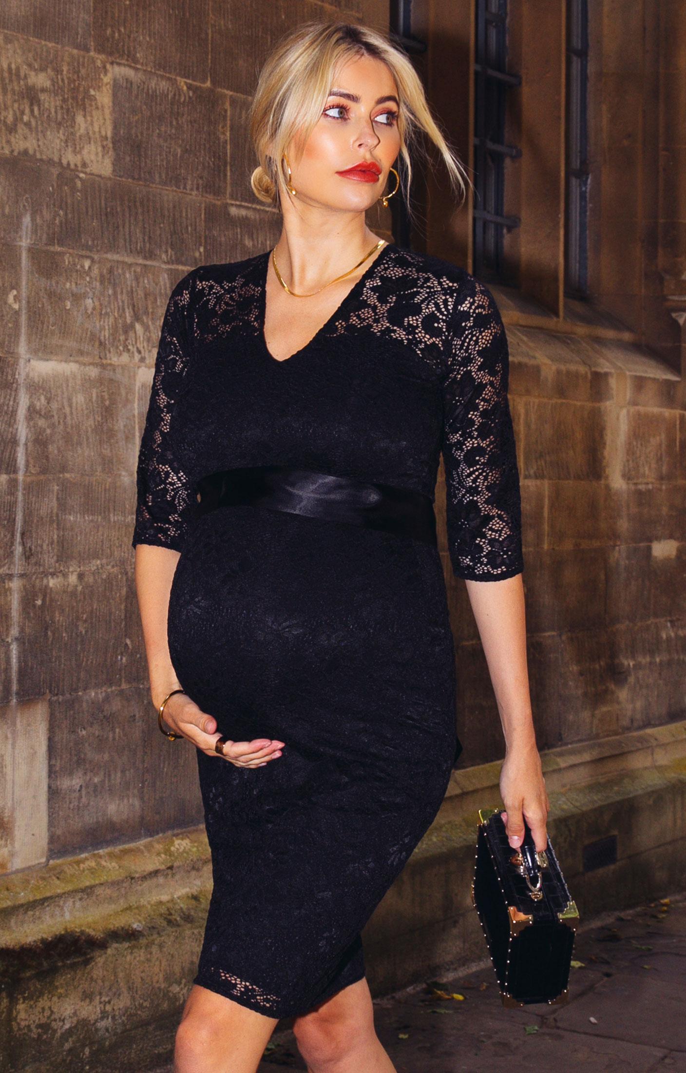 Suzie maternity dress short black maternity wedding dresses suzie maternity dress short black by tiffany rose ombrellifo Gallery
