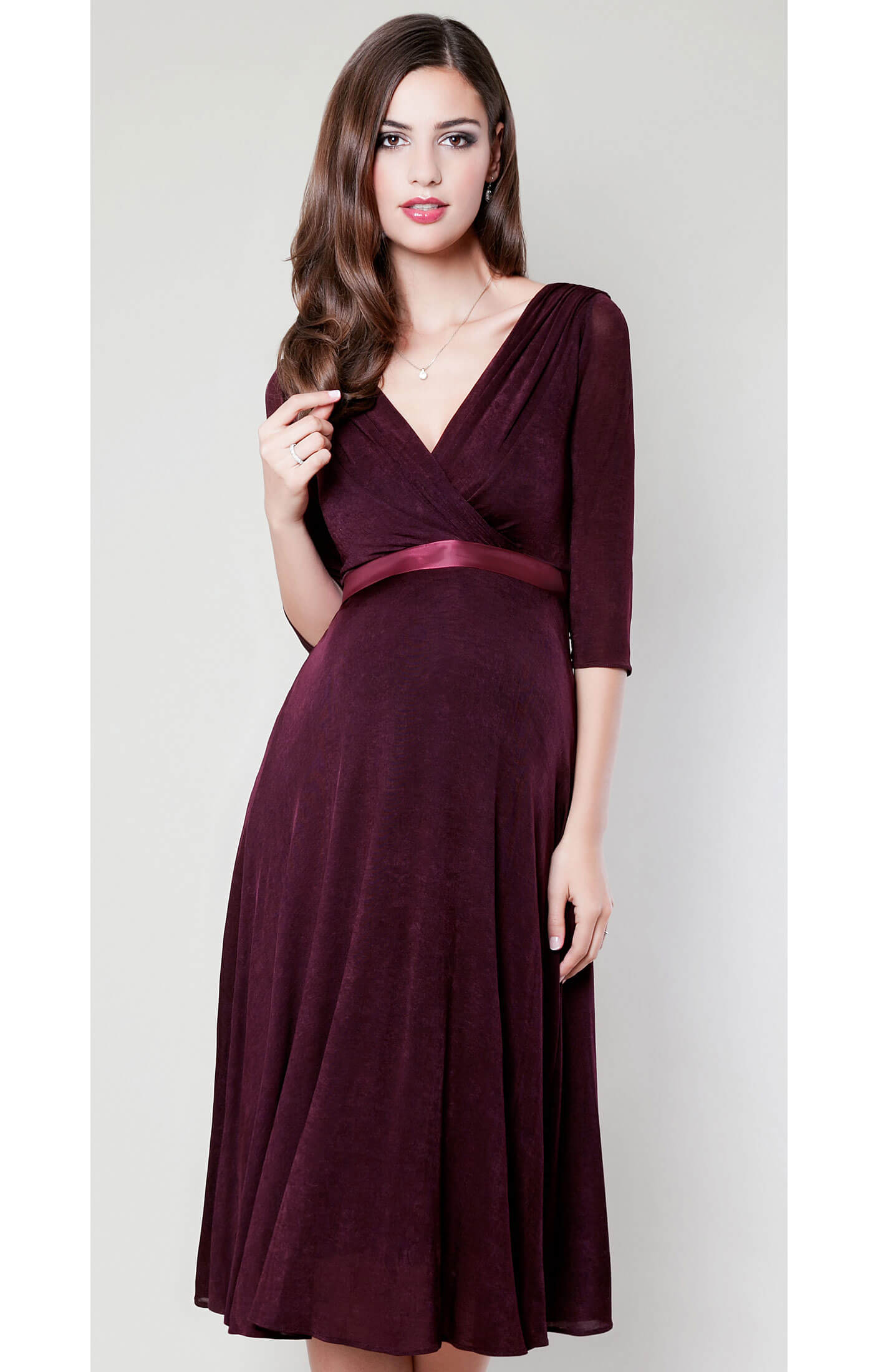 Willow maternity dress deep claret maternity wedding dresses willow maternity dress deep claret by tiffany rose ombrellifo Gallery
