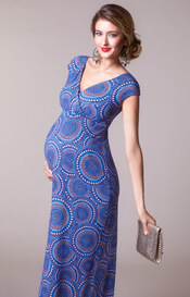 Alana Maternity Maxi Dress Aztec Artistry