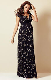 Alana Maternity Maxi Dress Night Blossom