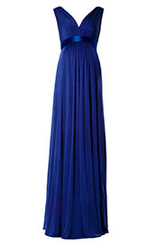 Anastasia Maternity Gown (Eclipse Blue)