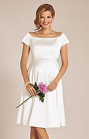 Aria Maternity Wedding Dress Ivory