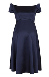 Aria Maternity Dress Midnight Blue