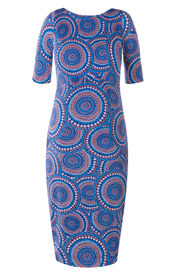 Anna Maternity Shift Dress Aztec Artistry