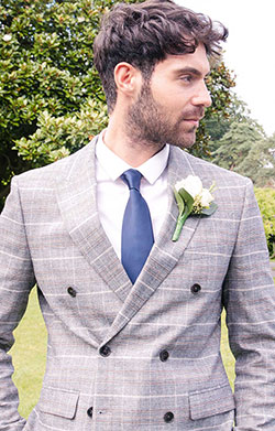 Wedding Tie (Midnight Blue)