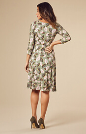 Cathy Maternity Dress Short Forest Feathers