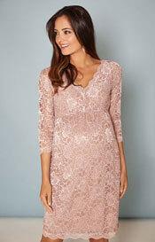 463211413a24 Amelia Maternity Dress Short Misty Lilac - Maternity Wedding Dresses ...