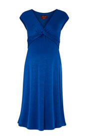 Clara Maternity Dress Cobalt Blue