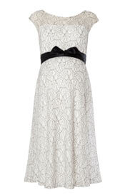 Daisy Maternity Dress Mono Lace