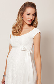 Eliza Maternity Wedding Gown Long (Ivory)