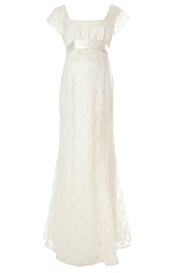 Eva Lace Maternity Gown (Cream)
