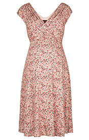 Farah Maternity Dress Sunset Bloom