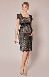 Flutter Lace Maternity Dress