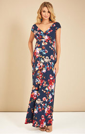 Alana Maternity Maxi Dress Midnight Garden