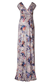 Alana Maternity Maxi Dress Vintage Bloom