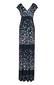Gemma Maternity Maxi Dress Boho Bloom