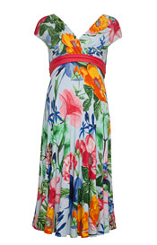 Alessandra Dress Short Hawaiian Breeze