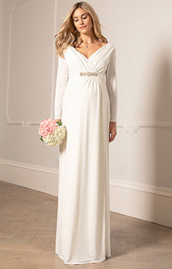 Isabella Maternity Wedding Gown