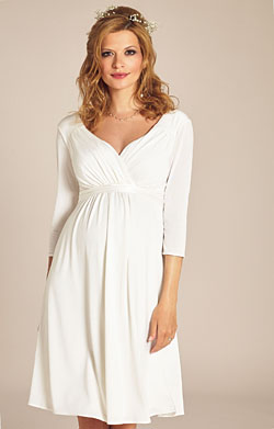 Lexi Maternity Wedding Dress Ivory