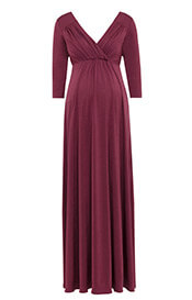 Lexi Maternity Gown Spice Rose