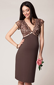Luella Maternity Shift Dress Amaretto