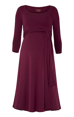 Stillkleid Naomi - Mulberry