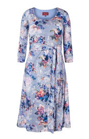 Naomi Nursing Dress Vintage Bloom