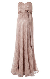 Olivia Maternity Gown (Antique Rose)