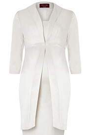 Oria Wedding Coat (Ivory)