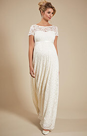 672d820ea78 Penelope Gown. Ivory £299.00. Eden Maternity Wedding ...