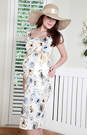 Primrose Shift Maternity Dress