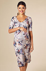 Tilly Shift Maternity Dress Vintage Bloom