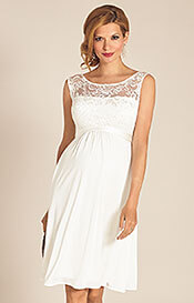 Valencia Maternity Wedding Dress Ivory