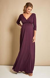 Willow Maternity Gown Claret