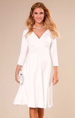 Willow Maternity Wedding Dress Ivory