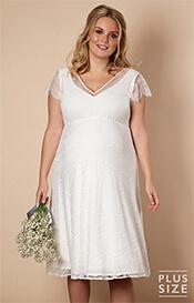 Plus Size Maternity Wedding Dresses