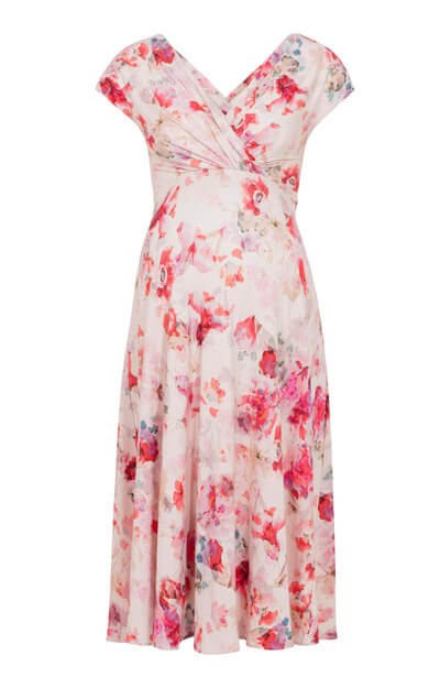 Alessandra Maternity Dress Short English Rose
