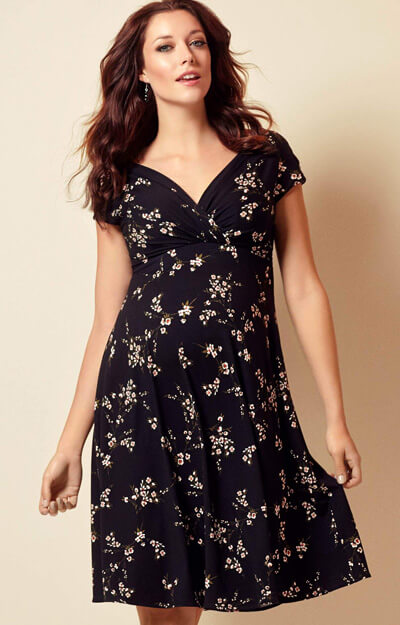 Alessandra Maternity Dress Short Night Blossom