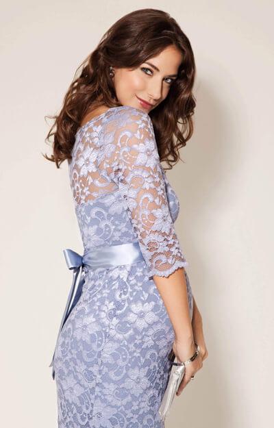 Amelia Maternity Dress Short Misty Lilac Maternity Wedding Dresses