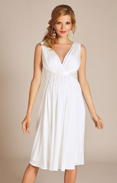 Anastasia Maternity Wedding Dress Short (Ivory) by Tiffany Rose