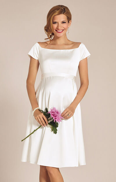 Aria Maternity Wedding Dress Ivory by Tiffany Rose