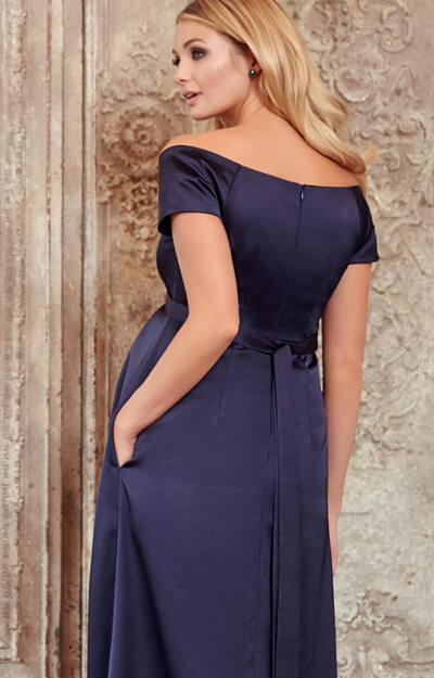 Aria Maternity Gown Midnight Blue