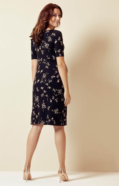 Anna Shift Maternity Dress Imperial Night Blossom