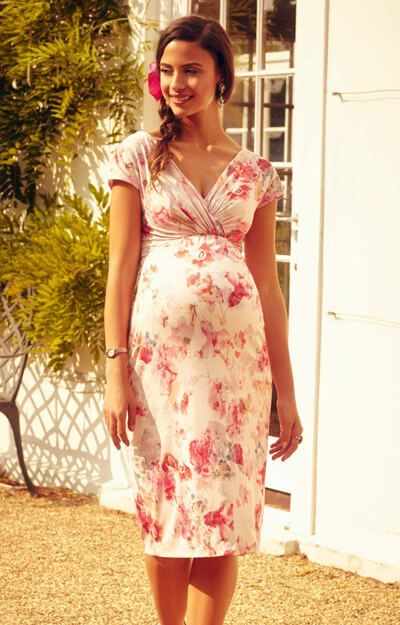 Bardot Maternity Shift Dress English Rose by Tiffany Rose
