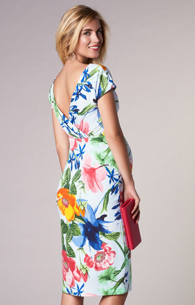 Bardot Maternity Shift Dress Hawaiian Breeze Maternity