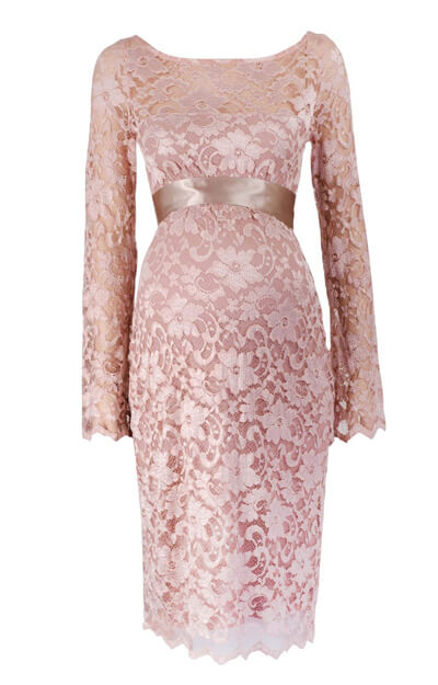 Chloe Maternity Dress (Vintage Rose)