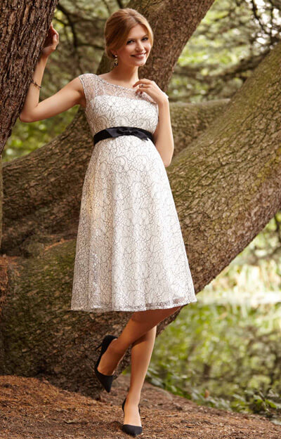 Daisy Maternity Dress Mono Lace by Tiffany Rose