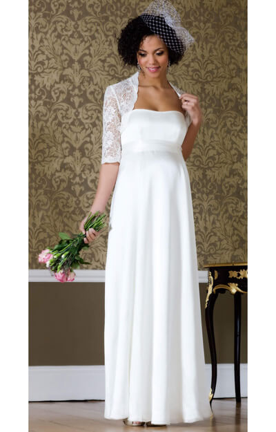 Ella Maternity Wedding Gown (Long)
